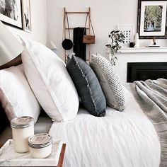 ⠀ Time to go to bed ⠀  @white.grey.all.day ⠀ ⠀ Be a part of our family and tag your photo with #mynordicroom ⠀ ⠀ ...⠀ ⠀ Don't miss out on your daily Nordic interior design and lifestyle inspiration! Follow us on Facebook  ⠀