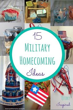 Genial 15 Military Homecoming Ideas: Welcome Home A Solider With Marie Callenderu0027s