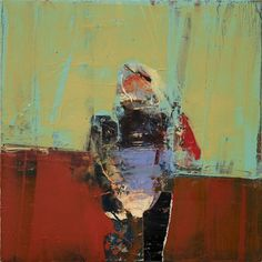 Henry Jackson Untitled ( 2014 Oil & Cold Wax On Canvas Over Panel 12 in x 12 in Abstract Expressionism, Abstract Art, Henry Jackson, Modern Art, Contemporary Art, Willem De Kooning, Various Artists, Figure Painting, Bay Area