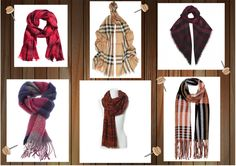 Checked woolen scarfs  http://www.chic-coctail.mablog.eu/