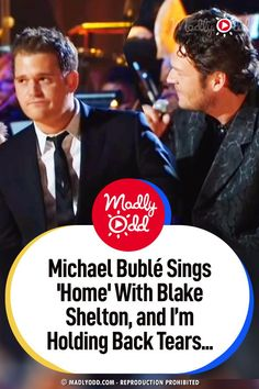 Michael Bublé and Blake Shelton are perfect in this duet. Their voices compliment each other perfectly and the bromance works. Country meets Frank Sinatra! #duet #MichaelBuble #BlakeShelton #music Music Sing, Live Music, Good Music, My Music, Best Songs, Awesome Songs, Sara Evans, Mood Songs, Entertainment Video