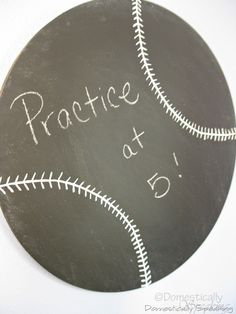 chalkboards, balls, kid bedrooms, basebal chalkboard, diy baseball room