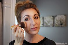 Bam! Strike a pose, ladies! If you're looking for a flawless, photo-ready face, highlighting and contouring is a must! It's really easy to do, you just need the right tools. Note that I don't recommend this for everyday wear... at least personally. There is a lot of product that goe