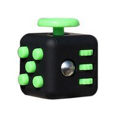 11 스타일 Fidget 큐브 장난감 원래 품질 퍼즐 & 매직 큐브 안티 스트레스 선물