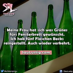 Meiner Frau kann man es auch nicht recht machen!!! German Words, Very Funny, Humor, Quotations, All In One, In This Moment, Sayings, Memes, Quotes
