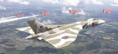 ArtStation - The Last Royal Escort - Avro Vulcan xh558, Antonis Karidis