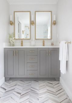 Ensuite Bathroom Fixtures a marble inspired ensuite bathroom (budget friendly too