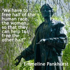 A statue to Suffragette Emmeline Pankhurst stands outside the Houses of Parliament in London and is one of the few statues in Britain that celebrate the achievement of women. Recently, a number of campaigns across the country have set out to change this.