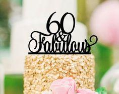 30 originales y fabulosos 30 cumpleaños Cake Topper  0167