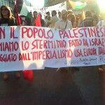 16/07/14 Bari for Gaza. #StayHuman #StopBombingGaza
