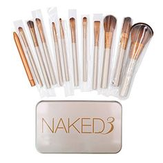 Makeup Brushes Set  Professional Bamboo Handle Kabuki Makeup Brush Foundation Blending Blush Powder Brush Cosmetics Brushes Set with Box *** Find out more about the great product at the image link.