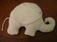 Kostenlos Kissen nähen // Elefanten-Kissen