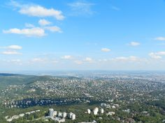 Zugligeti Libego (view of the city) - Budapest, Hungary