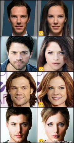 I think Misha's looks the best. And Benedict's.<<Nah, I think it's Jensen. But Benedict... Um, yep, it might be he's either.