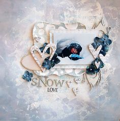 Snow Love by Majastokk - created with our A Dream Within A Dream kit