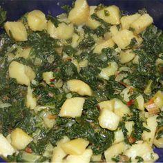 Snijbiet met aardappelen, een Kroatisch recept - straks maken, vers uit de tuin!