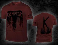 "KAMPFAR ""muro muro minde"", chilli red T-Shirt (limited to 50 copies)"
