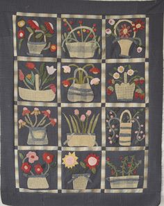 A blog about quiltmaking in the folk art and primitive style.