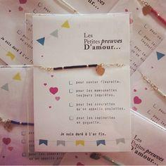 Bracelet Les Petites preuves D'amour