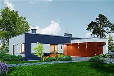 santander banking Projekt Domidea 2 d ps - koszt budowy - EXTRADOM Santander Bank, Bungalow, House Plans, Ps, Outdoor Decor, Home Decor, Projects, Blueprints For Homes, Homemade Home Decor