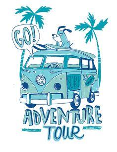 Ilustraciones realizadas para Tobogán, marca de indumentaria infantil. Uruguay Large Wall Stickers, Bus Art, Summer Boy, Kids Prints, Drawing For Kids, Cartoon Drawings, Doodle Art, Graphic Illustration, Vintage Posters