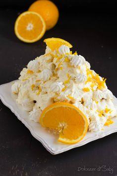 Il profiteroles all'arancia é un fine pasto fresco e golosissimo adatto a concludere un pranzo o una cena importante dando un tocco di freschezza.
