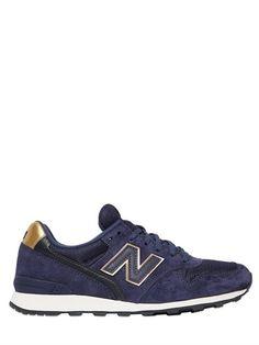 996 Suede & Mesh Sneakers