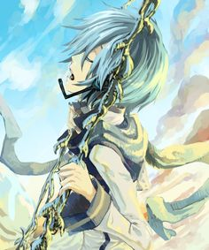 Kaito (Vocaloid) >w< Vocaloid Kaito, Kaito Shion, All Anime, Anime Guys, Anime Art, Vocaloid Characters, Manga Characters, Japanese Robot, Cartoon Video Games