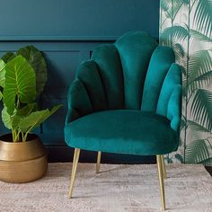 What to Expect From Teal Living Room Decor Teal Velvet Sofa Teal Walls Teal Velvet - eclarehome Teal Rooms, Teal Living Rooms, Teal Walls, Living Room Chairs, Living Room Decor, Dining Chairs, Lounge Chairs, Dining Room, Teal Armchair