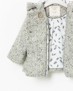Image 5 of HOODED COAT WITH EARS from Zara