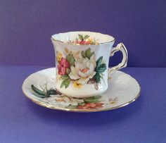 A personal favorite from my Etsy shop https://www.etsy.com/ca/listing/244407472/hammersley-co-bone-china-made-in-england