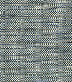 Crypton Upholstery Fabric Herringbone Blue Bill Upholstery