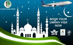 """""""Al-reyadh travel agents - one stop solution for all your Soudi Visa needs, Cargo Services, and Haj and Umrah Tours."""""""