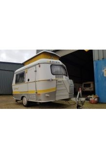 1998 Eriba Puck 120 Touring Caravan For Sale With Awning And Full Service Touring Caravan Touring Caravans For Sale Caravans For Sale