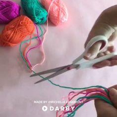 DIY String Art Wall Hanging #diy #stringart #artsandcrafts #darbysmart