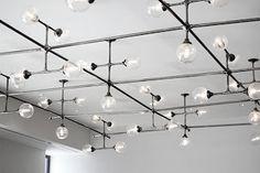 luces con cañería decorativa