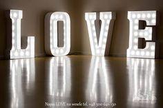 Napis Love - www.dekoracje.szczecin.pl