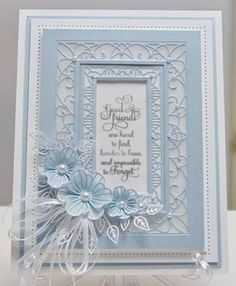 Image result for Cards Made Using Sue Wilson Flower Dies