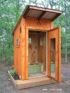 Just LOOK at this Outhouse!!!
