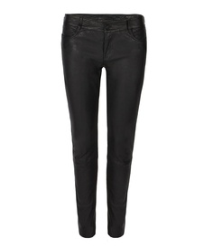 Harrah Pipe Skinny Trouser, Women, Leather, AllSaints Spitalfields