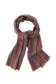 778019b11330 Paul Smith Accessories Mens Paul Smith Mens Scarf In Tradtional Multistripe  Multi - Paul Smith Accessories Mens from Blueberries UK