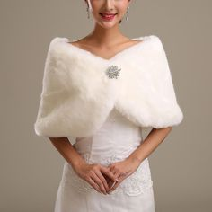 Cheap bridal coats, Buy Quality fur wedding capes directly from China faux fur wedding Suppliers: Bride's White Ivory Faux Fur Wedding Cape Wrap Shrug Shawl Bridal Coat Fur Cape, Cape Coat, Winter Wedding Coat, Wedding Cape, Bridal Cape, Bridal Shawl, Bridal Shrugs, Wedding Dress Accessories, Winter Accessories