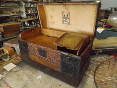 Small Antique Trunk
