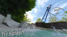 Caneva World 2019 Tri Splash (left slide) VR Onslide Music Clips, Music Publishing, Vr, Songs, World, Water, Gripe Water, The World, Song Books