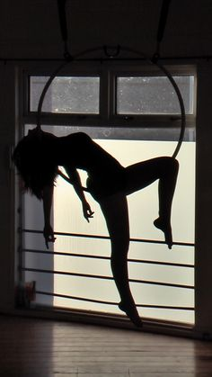 Aerial Hoop Love the shadow picture...