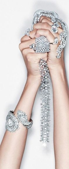 Its always tough to clean out the jewelry box..... jewels by Harry Winston