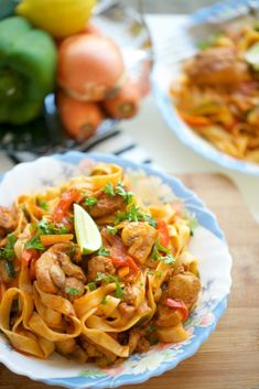 Tagliatelle met kip – Food And Drink Pasta Recipes, Chicken Recipes, Dinner Recipes, Cooking Recipes, Healthy Recipes, Best Potato Recipes, How To Cook Potatoes, Best Appetizers, How To Cook Pasta