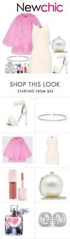 """NC"" by rarah-chan on Polyvore featuring moda, Jeffrey Campbell, Suzanne Kalan, Gucci, Yeezy by Kanye West, Puma, Chanel, Lancôme e Allurez"