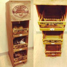 どんな部屋にもぴったりな収納に!100均の木箱DIYが可愛い♡ - LOCARI(ロカリ)