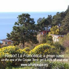 Planning an Italian vacation? La Francesca Eco-Resort is giving Reduce Footprints' readers a great deal: http://reducefootprints.blogspot.com/p/special-offers.html